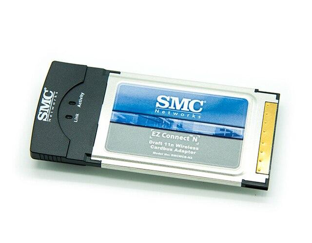 SMCWCB-N2 Lan Cardbus PCMCIA 2.4G 300 Mb Wi-fi Sem Fio Adaptador de Rede para o Portátil