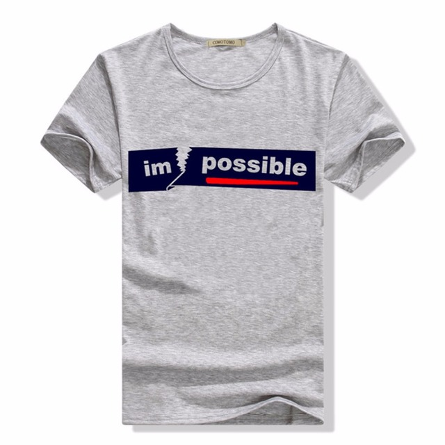 pas cher à vendre 2019 professionnel produits chauds T Shirt Men 2018 Summer Tee Shirt Homme De Marque Casual Short Sleeved T  Shirt Printed Slim Fit Tshirt Poleras Hombre -in T-Shirts from Men's  Clothing ...