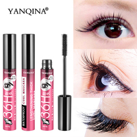 f1c38c4dedb YANQINA 36H Black Waterproof Mascara Silk Fiber Lash 3D Makeup Eyelash  Extension Black Thick Lengthening Cosmetic Eye Lashes