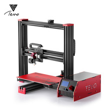 Electronic TEVO Black Widow 3D Printer Full Aluminium Large Printing Size Cheap DIY Kit Extrusion MKS Mosfet SD Card As Gift