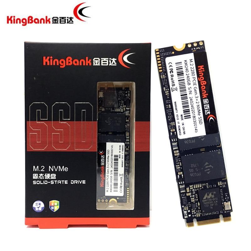 KingBank KM-240 240G 240GB M.2 2280 PCIE GEN 3X2 SATA NVMe SSD PC Desktop Laptop Server Internal PC Solid State Drive SSD ssd 756642 b21 240 gb 2 5inch sata 6g solid state drive 1 year warranty
