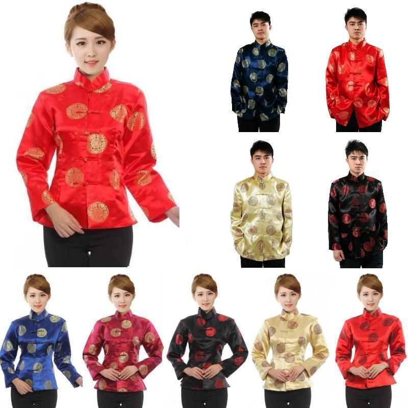 2019 chino tradicional ropa para mujer Tops primavera Festival de Año Nuevo, regalo de los hombres