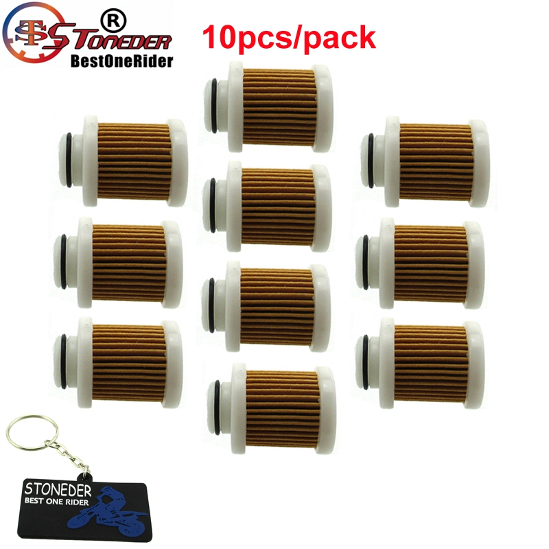 STONEDER 10x Gas Fuel Filter For Yahama 6D8 WS24A 00 00 F40A F50 T50 F60 T60
