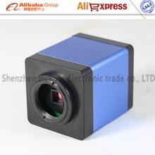 Big sale Free shipping 2MP HDMI 1920*1080 HD Digital Industry Microscope Camera Set 30 fps high speed microscope 10x zoo 1/3 inch sensor