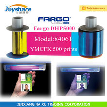 Fargo HDP5000 84061 Color UV Ribbon YMCFK 500 prints New Sealed