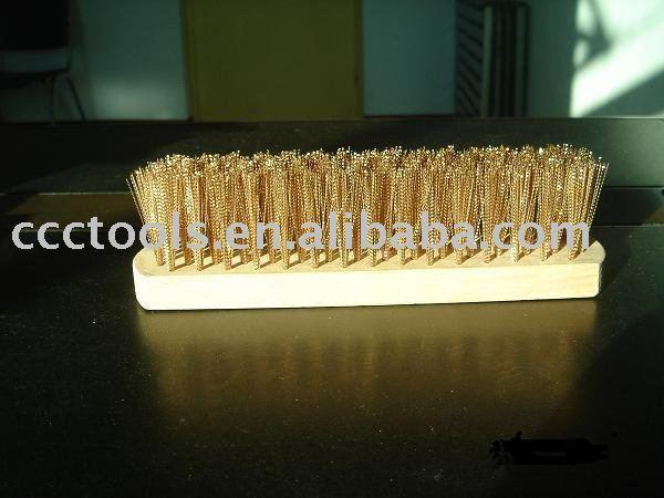 Cheap brass brush no spark safety promotion