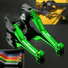 FREAXLL Dirt Bike Motorcycle Pivot Brake Clutch Levers Handle Bar CNC for Suzuki DR250R DR-250R DR 250 R 1997 1998 1999 2000