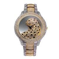 MISSY FOX Fashion Women Watches 2019 Best Sell animal Dial Clock Luxury Gold Women's Bracelet Quartz Wrist Watches