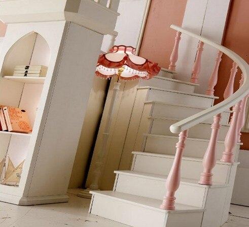 Princesse Chateau Superposes Lits Lits Jumeaux Meubles Pour Enfants