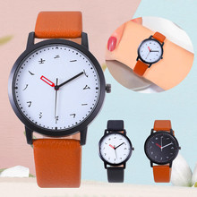 Creative Design Watches Women Chinese Character Watch High Quality Leather Strap Ladies Quartz Clock WristWatch Relogio Feminino недорого
