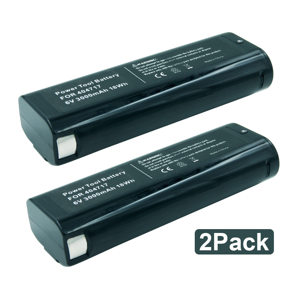 2 Pack 6V 3.0Ah Rechargeable Tools Battery for Paslode 404717 B20544E,BCPAS-404717SH,IM350A,IM200F18,IM350CT,IM65A2 Pack 6V 3.0Ah Rechargeable Tools Battery for Paslode 404717 B20544E,BCPAS-404717SH,IM350A,IM200F18,IM350CT,IM65A