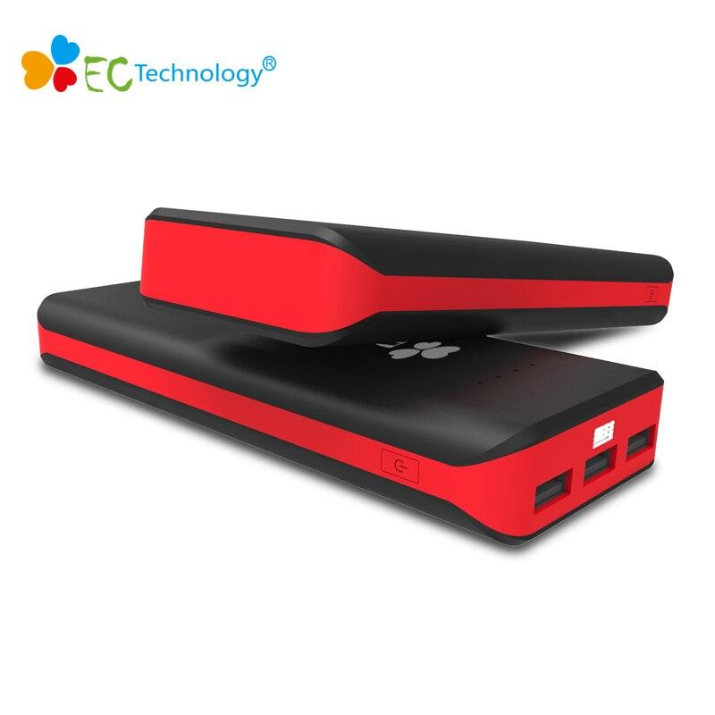 La Technologie CE Mobile Chargeur Power Bank 20000 mah Externe Portable Batterie Chargeur 3 USB Powerbank banque puissance bateria