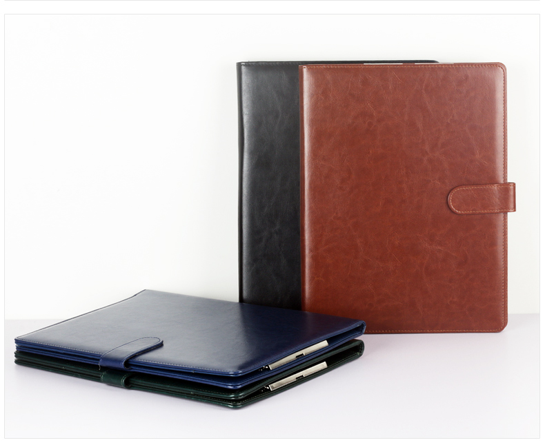A4 Multifunction Folder Leather Manager Folder Business Sales