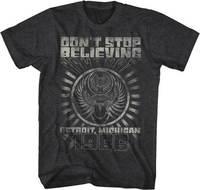 Reise Nicht Glauben Detroit Michigan 1986 Rockmusik Erwachsenen T-shirt