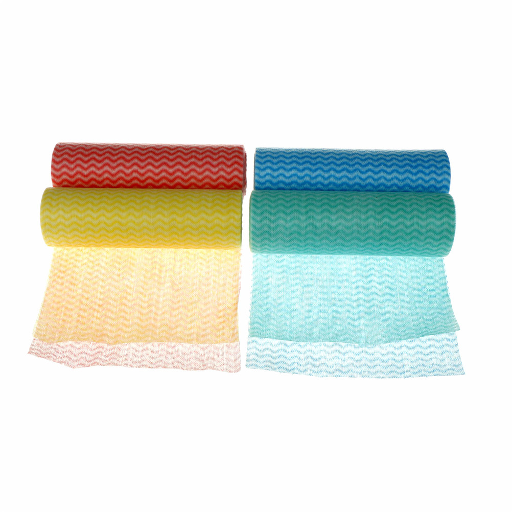1 Roll Cleaning Cloth Nonwoven Fabric Oil Cleaning Towels Disposable ...