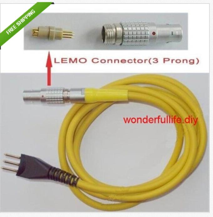 3 Prong Connection Cable for Leeb Hardness Tester