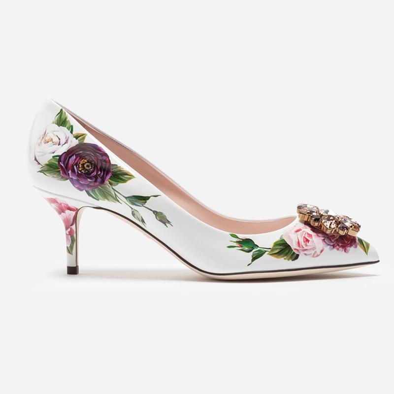 Chaussures Talons Fête Marque Cristaux Mariage Chaton Piste Femme As Motif Paillettes Chaussure Fleur Ornée Chic De Pic Femmes Pompes Hx8qgEBB