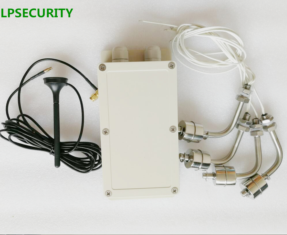 LPSECURITY GSM REMOTE Switch Alarm Board Module Controller Unit For Oil And Water Tank Monitoring Water Oil Level With Sensor