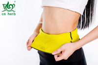 Cn Herb Hot Thermo Sweat Neoprene Shapers Slimming Belt Waist Cincher Girdle For Weight Loss Women & Men Free Shipping