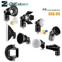 FALCON EYES Softbox Flash Diffuser Adapter Kit Accessory for K9/K 9 Universal Mount CA SGU Speedlite for SGA K9 for Canon Nikon