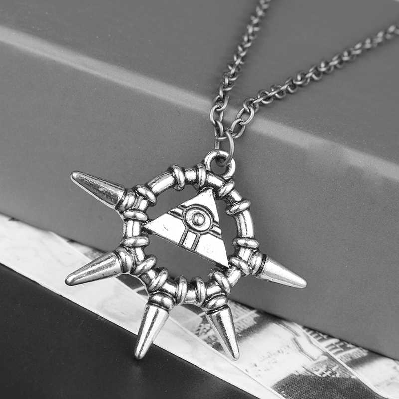 Game 3D Yu Gi Oh Cosplay Pyramid Egyptian Eye Of Horus Yu-Gi-Oh Necklace Anime Millenium Pendant Jewelry Toy Cosplay Party Gift