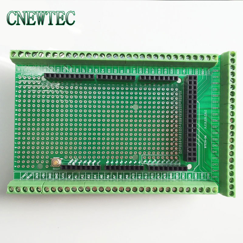 10pcs Prototype Screw Terminal Block Shield Board Kit For MEGA 2560 Mega 2560 R3 Mega2560 R3