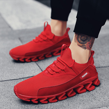 2019 New Fashion Krasovki Men's Casual Shoes Male Sneakers Slip on Mesh Shoes Footwears Sapato Vulcanized Shoes 38-47