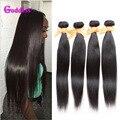 Top Quality 8A Grade Peruvian Virgin Hair Straight Unprocessed Virgin Peruvian Straight Hair 4Bundle Deals Human Hair Weave