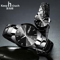 Brand Luxury Lover Watches Quartz Calendar Dress Women Men Watch For Couples 2017 New Fashion Wristwatch