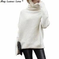 May Leaves Love Sweater Shirt Women Jumper 2017 Autumn Oversized Tops Long Sleeve Women Knitwear Loose Sweater Female LR0244
