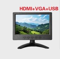 7 FPV LCD Monitor Video Screen 7 Inch FPV 1024X600 HD Monitor