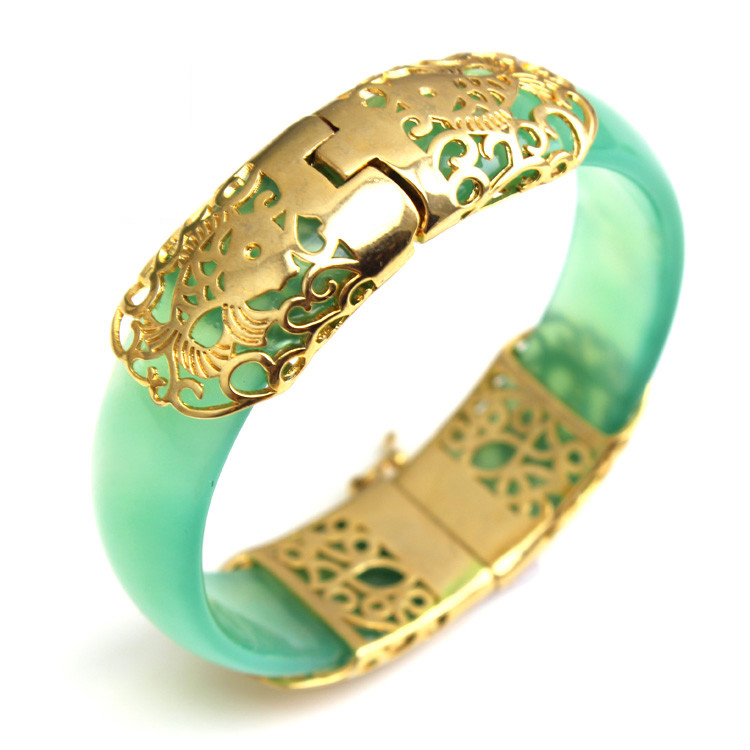 Free Shipping Natural Agate Chalcedony Bracelet Gold PlatedJewelry Gift Jade  Bangle For WomenFree Shipping Natural Agate Chalcedony Bracelet Gold PlatedJewelry Gift Jade  Bangle For Women