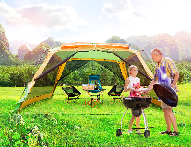 High-end 8-10 Person Pergola Tent,Outdoor Family Barbecue awning Tent,TXZ-0026 Portable Big Beach Tarp TentHigh-end 8-10 Person Pergola Tent,Outdoor Family Barbecue awning Tent,TXZ-0026 Portable Big Beach Tarp Tent