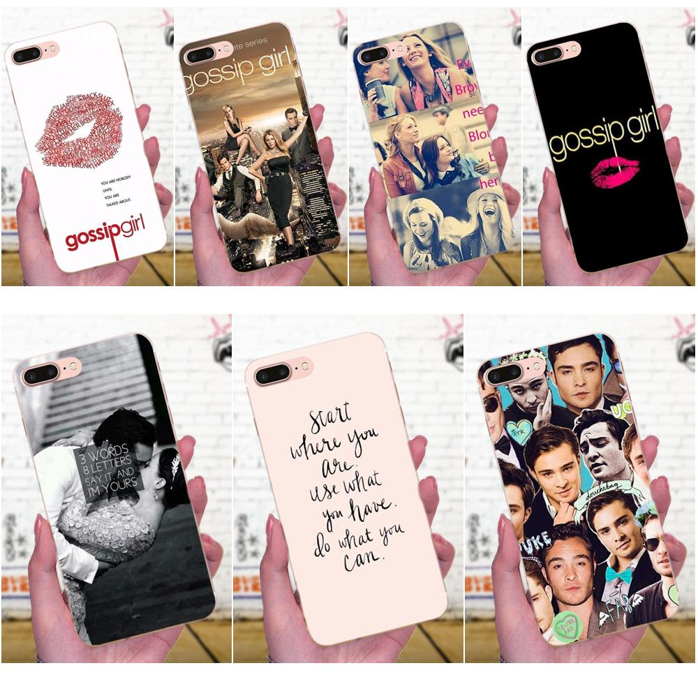 Cellphones & Telecommunications Half-wrapped Case Gossip Girl Blair And Chuck Soft Tpu Hipster Case For Huawei P8 P9 P10 P20 P30 Mate 7 8 9 10 20 Lite Plus Pro 2017 Mild And Mellow