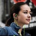 Esporte Correndo Fone de Ouvido Estéreo de 3.5mm Para Nomi i506 Brilhar Fones de Ouvido Fones De Ouvido Fones de Ouvido Com Microfone Controle de Volume Remoto