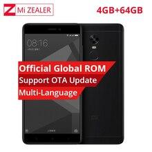 Orijinal Xiaomi Redmi Not 4X4 GB RAM 64 GB ROM Cep Akıllı Telefon Snapdragon 625 Octa Çekirdek 1920x1080 5.5