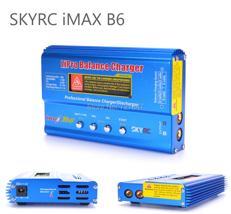 Original SKYRC iMAX B6 Genuine Mini Balance Charger For RC Helicopter NiMH / NiCd Rechargeable Battery