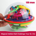 New Perplexus 3D Maze Game Toy Learning &Educatinal Puzzle ball 138 steps Big Size Kid  Adult Maze Intellect  ball Baby Toys