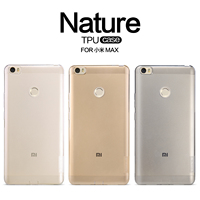 Original Nillkin For Xiaomi Mi Max Cover Case Hight Quality Ultra Thin Transparent TPU Back Case