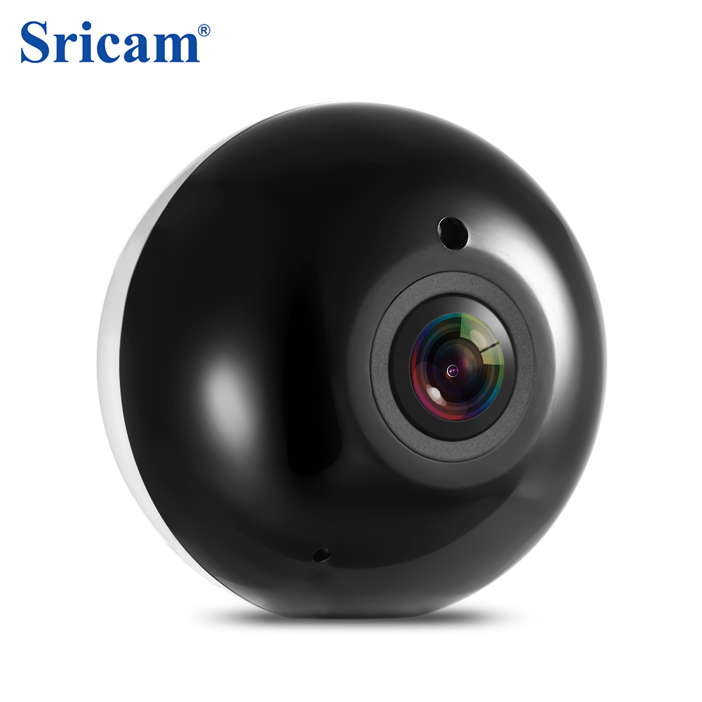 Sricam SP022 HD 960P Surveillance Camera Mini WiFi IP Indoor Security Camera 360Degree Panorama with IR Night Vision 4X Zoom mini hd 360 degree fisheye panoramic analog high definition surveillance camera module security indoor ir night vision