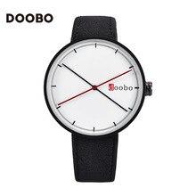 2016 New DOOBO Quartz-Watch Relogio Masculino Watches Men Relojes Montre Femme Homme Saat Sport Military Leather Watch