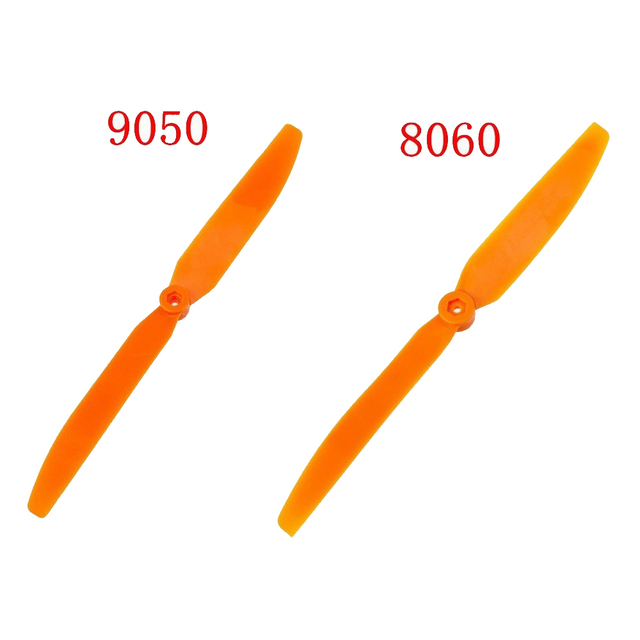 "10pc/lot 10x6"" or 9x5"" 10pcs Orange Direct Drive Electric Propeller EP1060 EP9050 8060 8040 7035 6030 5030"