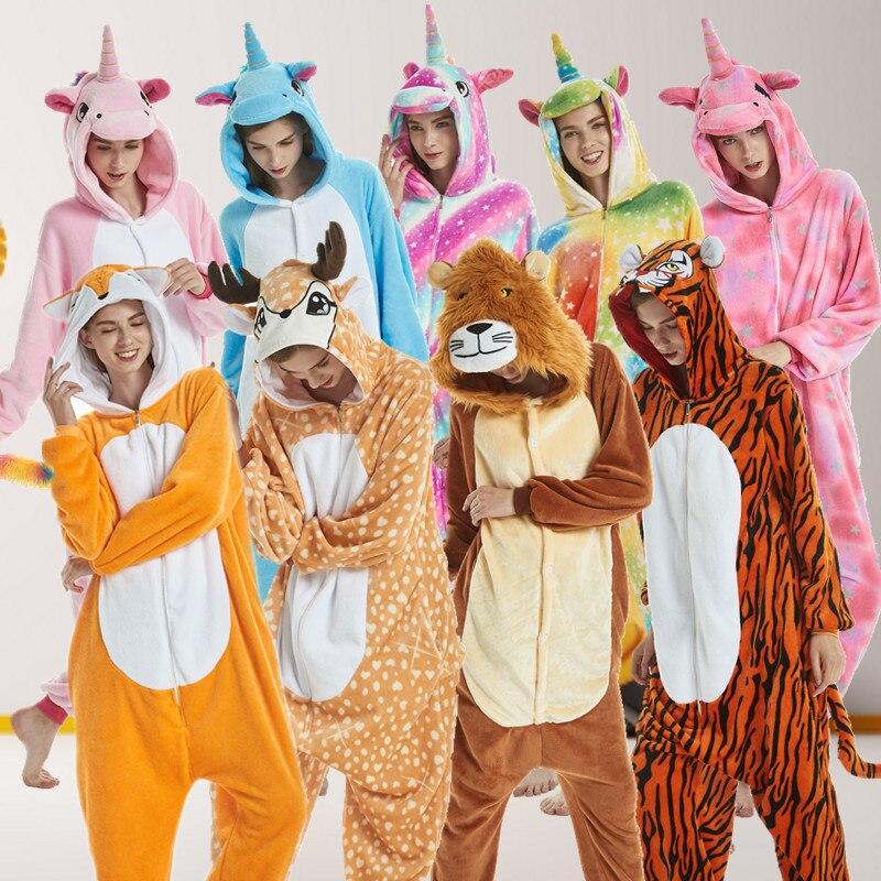 d802ad11b4 PSEEWE de franela de invierno conjuntos de pijama de las mujeres ropa de  dormir