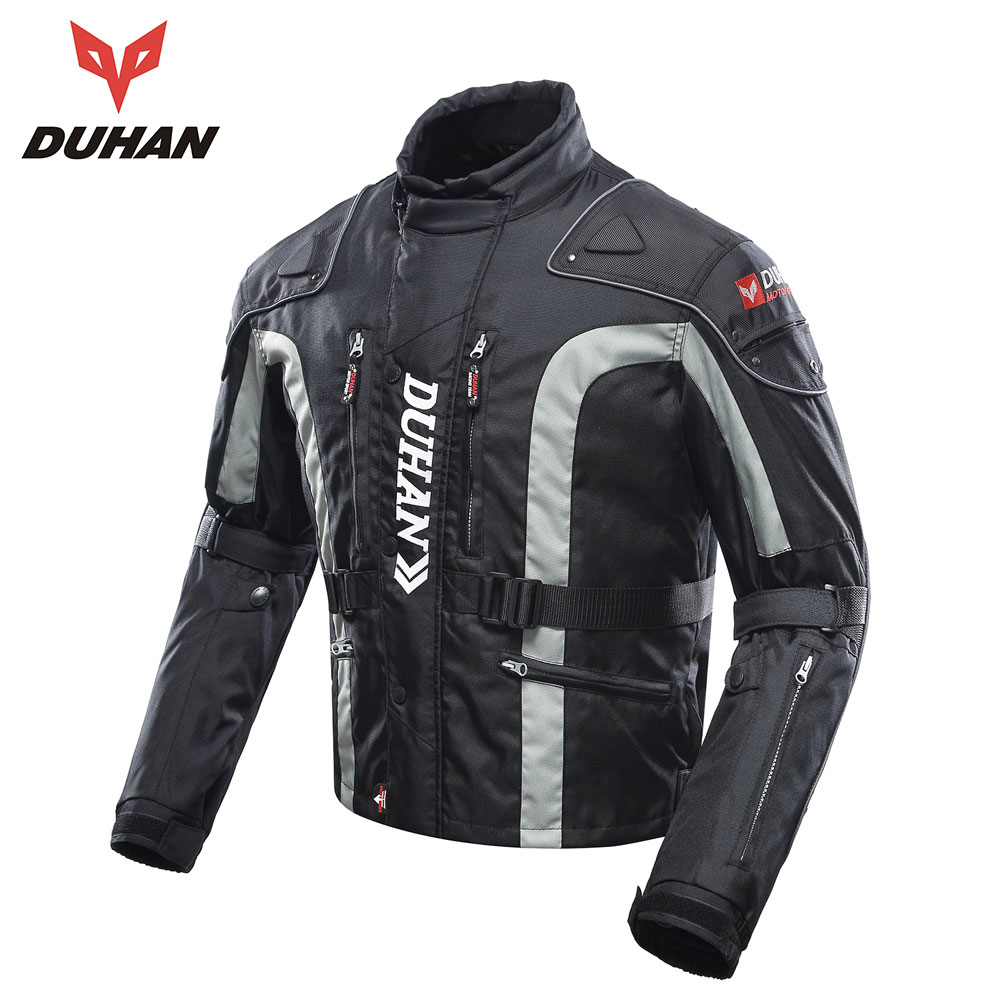 DUHAN Motorcycle Clothing Motocross Equipment Gear Men Motorcycle Jacket Cotton Underwear Cold-proof Moto Jacket Oxford Cloth duhan motorcycle jacket motocross jacket moto men windproof cold proof clothing motorbike protective gear for winter autumn