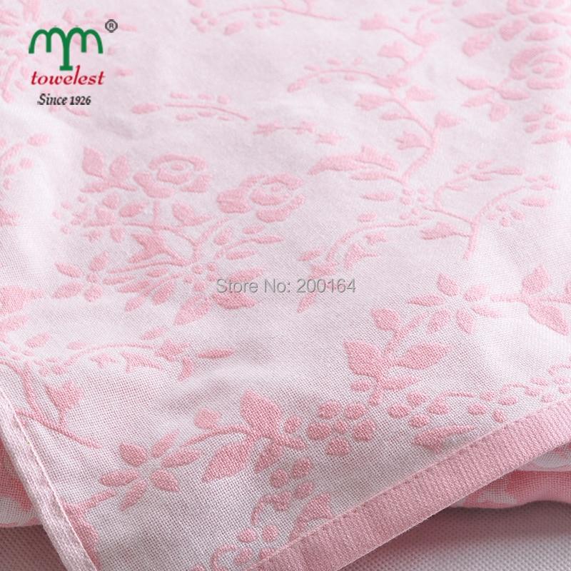 Beroyal Brand Throw Blanket 100% Cotton Blankets Super Soft Blanket - Textiles para el hogar - foto 4
