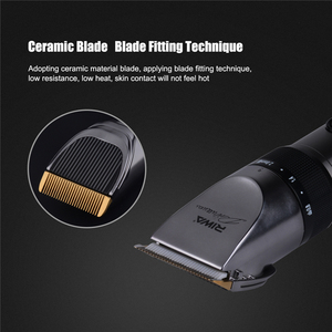 Image 3 - RIWA X9 Hair Trimmer Professional Rechargeable Hair Clipper Lithium Battery Electric Hair Cutting Machine + 1pcs extra blade S50