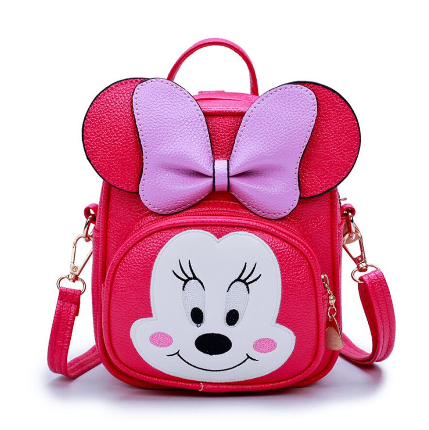 New Cartoon Messenger Bags Mini Cute Bag Children Kids Handbag Girls Shoulder Bag Purses Long Strap