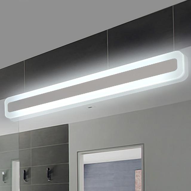 8/12/16/20/24 W spiegel lichten Modern make kleedkamer badkamer led spiegel  licht armatuur thuis verlichting wandlamp spiegel in 8/12/16/20/24 W ...