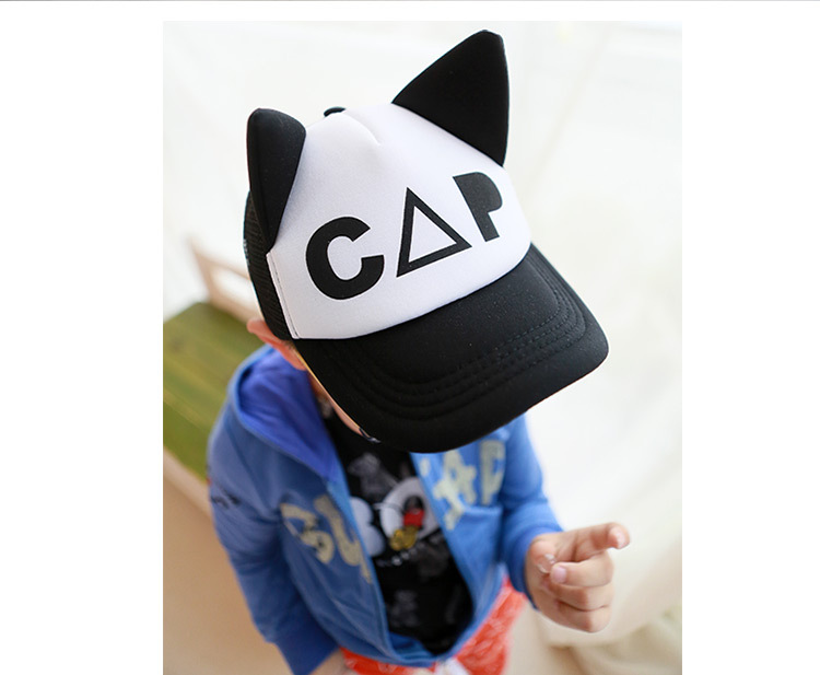 Toddler Wearing the Mask, Smiling Cloud and CAP Characters Toddler Snapback Cap