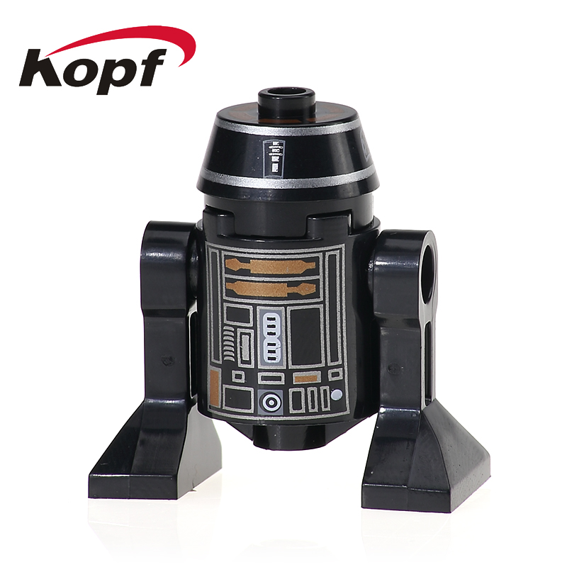 XH 527 Super Heroes RSJ2 Star Wars Smart Robot C110p SW424 Classic R2D2 BB8 Dolls Bricks Building Blocks For Children Gift Toys